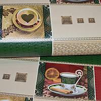 Обои, на стену, винил, красивые, чашки,  B49.4 Индия 13 5524-13, супер-мойка, 0,53*10м