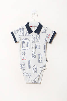 Боди Gulliver baby 74-80 cm (11734BBC0102_White-Blue)