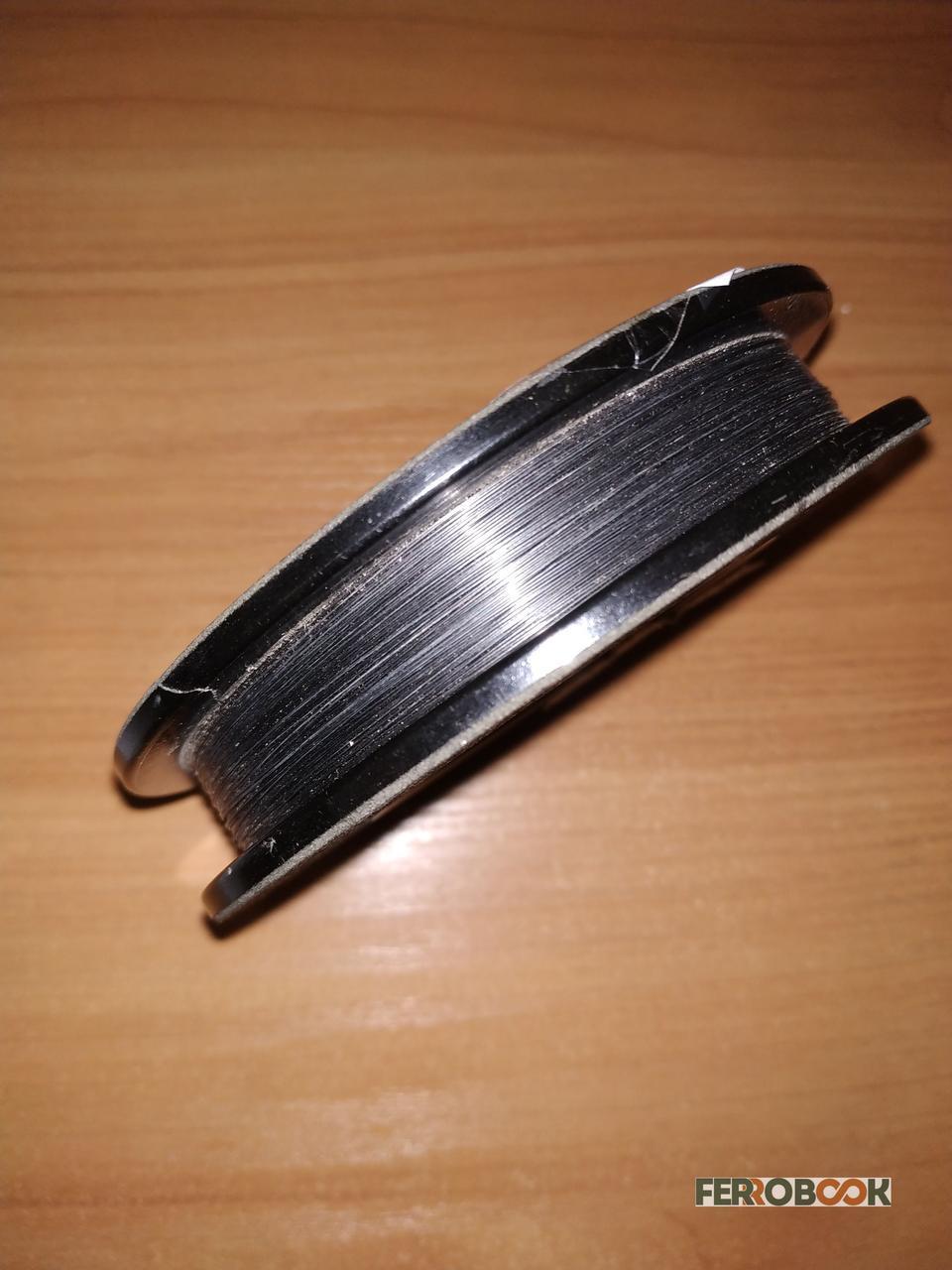Вольфрамова дріт ВА 0,33 мм - 30м