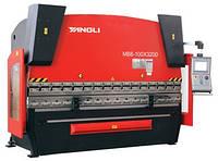 Гидравлические гибочные пресса MB8-100/4200(ЧПУ Delem 66T + ось R)