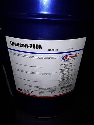 Трансол - 200, смазка, ведро 17кг, фото 2