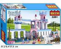 Конструктор Замок принцессы COGO 600 деталей