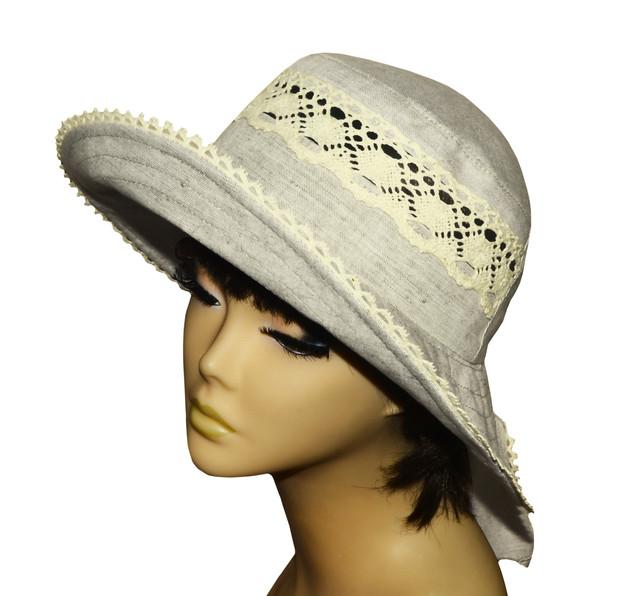 Купить женскую шляпку на завязках