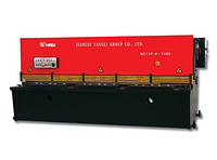 Гильотинные гидравлические ножницы QC12Y-8х2500