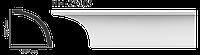 Карниз потолочный гладкий Classic Home HM-23105 , лепной декор из полиуретана