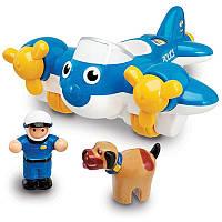 Игрушка WOW TOYS Police Plane Pete Полицейский самолет 6397879