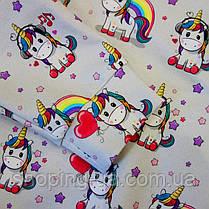 Свитшот для девочки единорог Five Stars KD0249-128p, фото 2