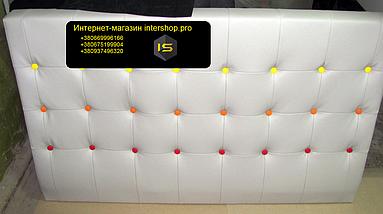 М'які узголів'я для ліжка, м'які панелі стінові панелі на замовлення, фото 2