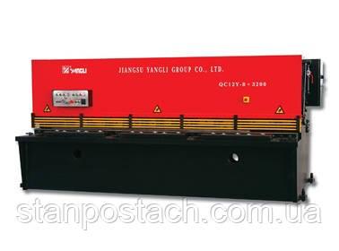 Гильотинные гидравлические ножницы QC12Y-6х4000