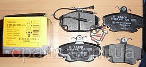 Колодки гальмівні передні Dacia Logan MCV (Bosch 0986467720)(висока якість)