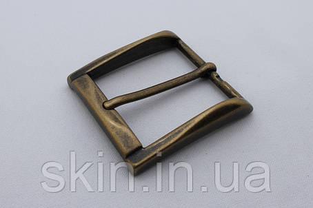 Латунная ременная пряжка, ширина - 40 мм, артикул СК 5463, фото 2