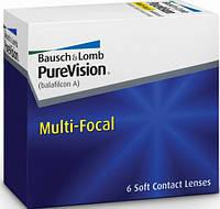 Линзы для глаз мультифокальные PURE VISION  MULTI-FOCAL