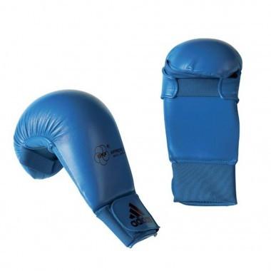 Перчатки без защиты пальца WKF 2012-2015. Цвет синий