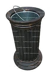Уличная урна для мусора чугунная №6