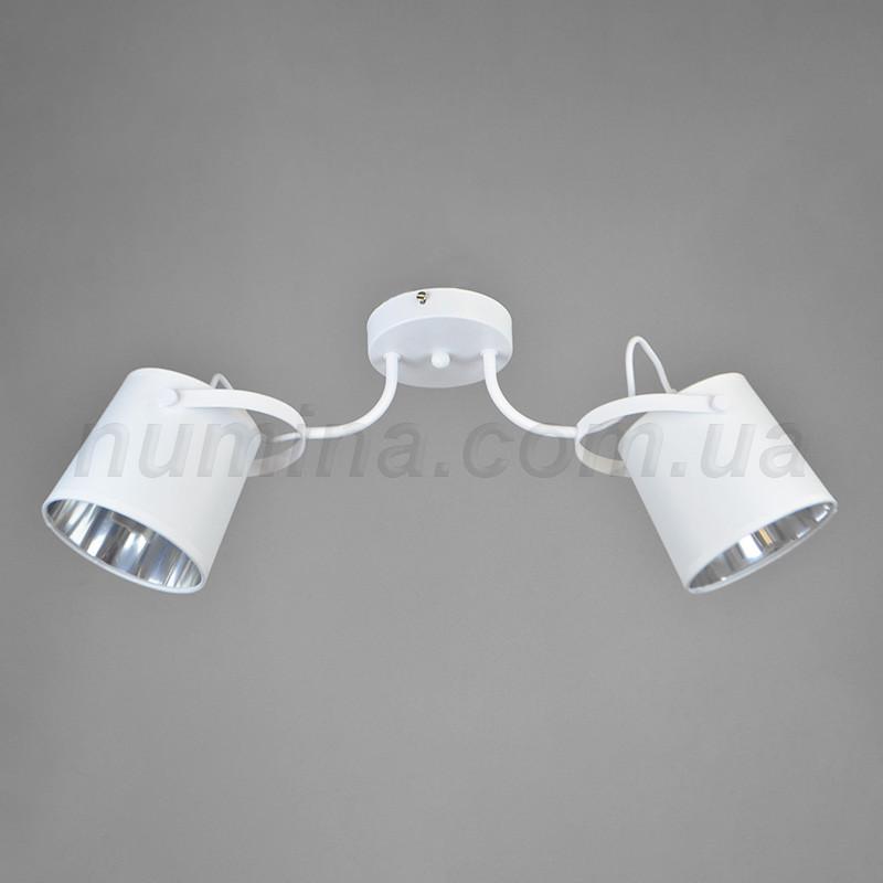Люстра потолочная на 2 лампы 29-K065/2 WT+WT