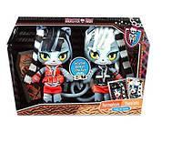Набір плюшевих Monster High Wherecat Twins Meowlody Purrsephone