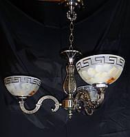 Люстра в античном стиле(3 плафона)