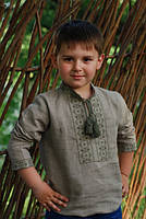 Вышиванка детская для мальчика Д061-236