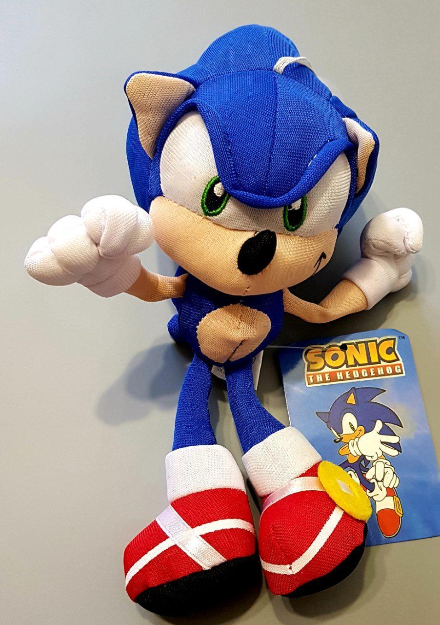 Соник мягкая игрушка Ежик Sonic 20 см из фильма Соник в ...