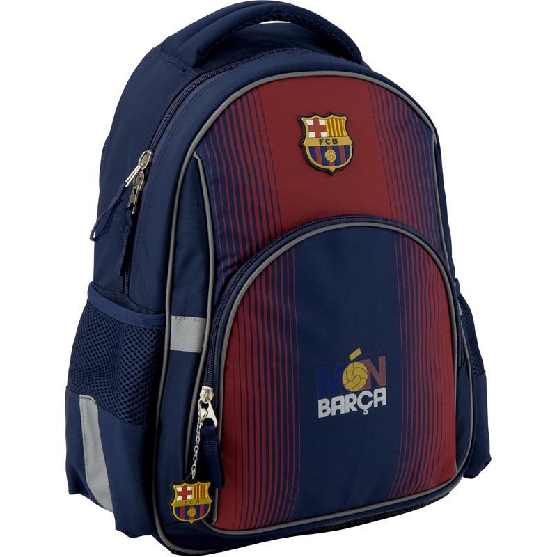 Рюкзак школьный Kite Education для мальчиков FC Barcelona 37,5x29x13 см 13 л (BC19-513S)