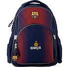 Рюкзак школьный Kite Education для мальчиков FC Barcelona 37,5x29x13 см 13 л (BC19-513S), фото 2