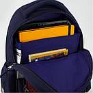 Рюкзак школьный Kite Education для мальчиков FC Barcelona 37,5x29x13 см 13 л (BC19-513S), фото 5