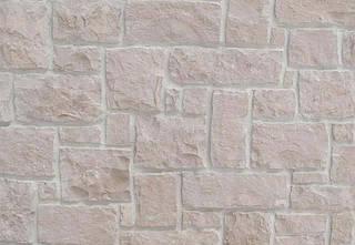 Камень для отделки фасадов Rock Face Flat White