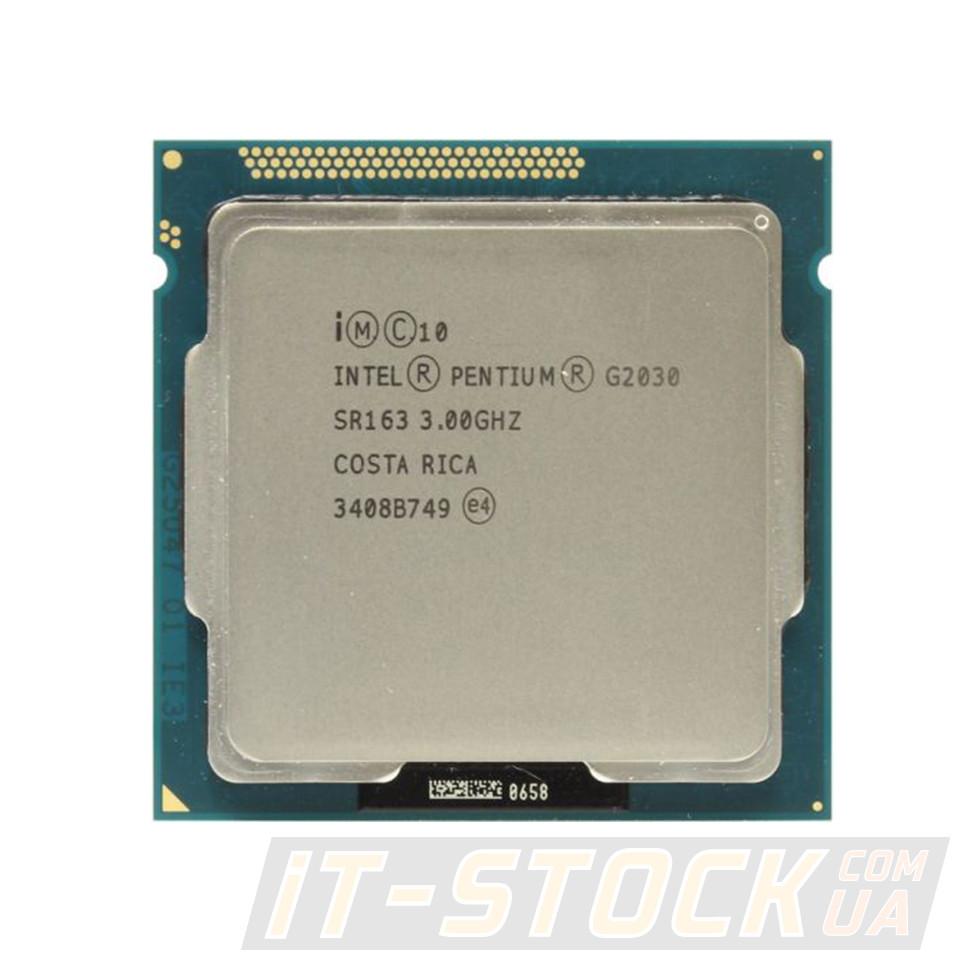 Процесор Intel Pentium G2030 (2×3.00 GHz/3Mb/s1155/Gen3) БО