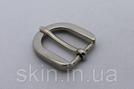 Пряжка ременная, ширина - 20 мм, цвет - никель, артикул СК 5475, фото 2