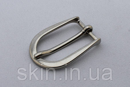 Пряжка ременная, ширина - 20 мм, цвет - никель, артикул СК 5477, фото 2