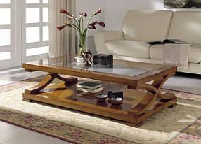 Журнальные столы деревянные