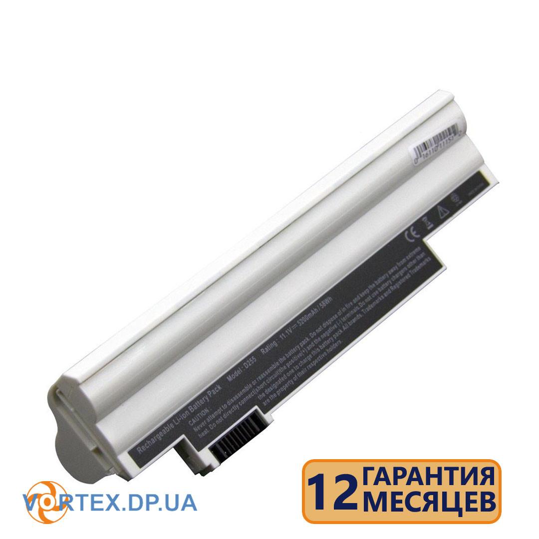 Батарея для ноутбука Acer Aspire One 522, 722, D255, D257, D260, D270, E100, eMachines 355 (AL10B31) 11.1V 5200mAh черная новая