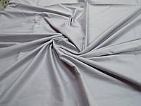 Ткань для пошива постельного белья сатин гладкокрашеный Серебро, фото 1