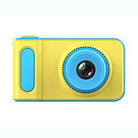 Детский цифровой фотоаппарат синий Smart Kids Camera Blue