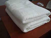 "Махровое полотенце без бордюрное 70Х140 ""Люкс"" Белое 450"
