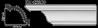 Карниз потолочный гладкий Classic Home HM-23106 , лепной декор из полиуретана