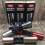 Беспроводные наушники блютуз гарнитура Bluetooth 4.2 Wi-pods S2 Оригинал водонепроницаемые Красный, фото 3