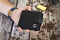 Кошелек кожаный Gucci / Мужской кошелек из натуральной кожи