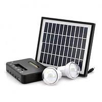 Осветительная система Stargold 3001, led, литиевый аккумулятор, ЗУ для мобильников, солнечная зарядка