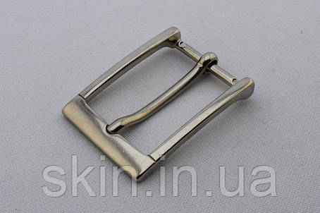 Пряжка ременная, ширина - 25 мм, цвет - никель, артикул СК 5480, фото 2