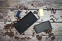 Кожаное портмоне Montblanc / Мужское портмоне из натуральной кожи