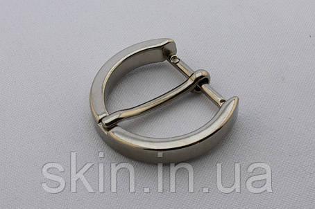 Пряжка ременная, ширина - 25 мм, цвет - никель, артикул СК 5482, фото 2