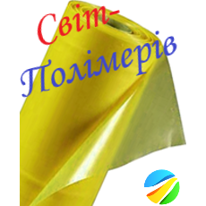 Пленка тепличная желтая UV 12 мес. РУКАВ 1.5 м, 90 мкм (вес 24-25 кг)