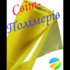 Пленка тепличная желтая UV 12 мес. РУКАВ 1.5 м, 130 мкм (вес 17-18 кг)