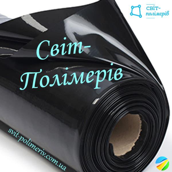 Плівка будівельна вторинка чорна РУКАВ 1.5 м, 50 мкм (вага 13-14 кг)