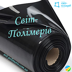 Плівка будівельна вторинка чорна РУКАВ 1.5 м, 140 мкм (вага 19-20 кг)