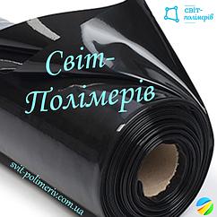 Плівка будівельна вторинка чорна РУКАВ 1.5 м, 190 мкм (вага 26-27 кг)