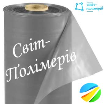 Пленка строительная вторичка серая РУКАВ 1.5м, 180 мкм (вес 24-25 кг)