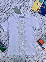 Школьная блузка для девочек  от 6 до 9 лет, фото 1