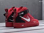 Чоловічі кросівки Nike Air Force 1 07 Mid LV8 (червоні), фото 4